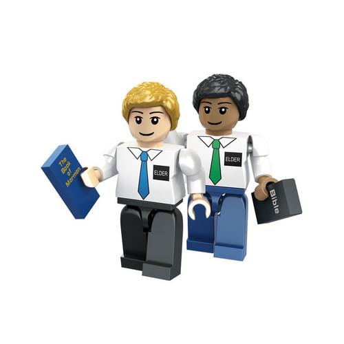 Brick Set Figures - Elder Missionaries*