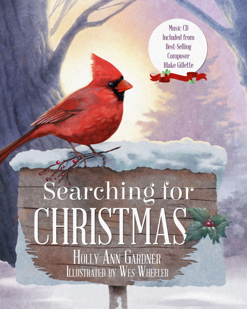 Searching for Christmas  (Hardcover)  Includes CD