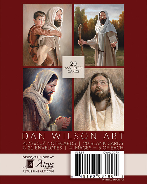 Dan Wilson Note Card Box Set (20 Assorted cards)