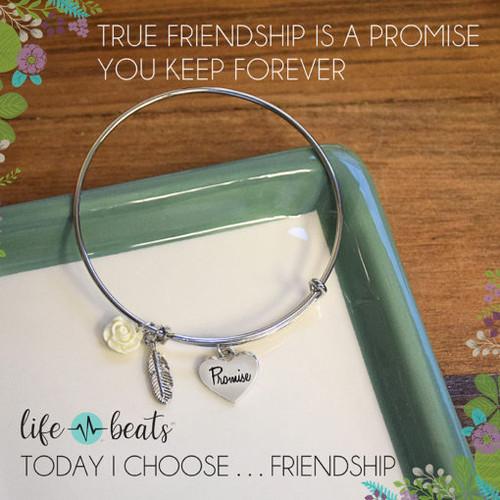 Promise Bangle Bracelet