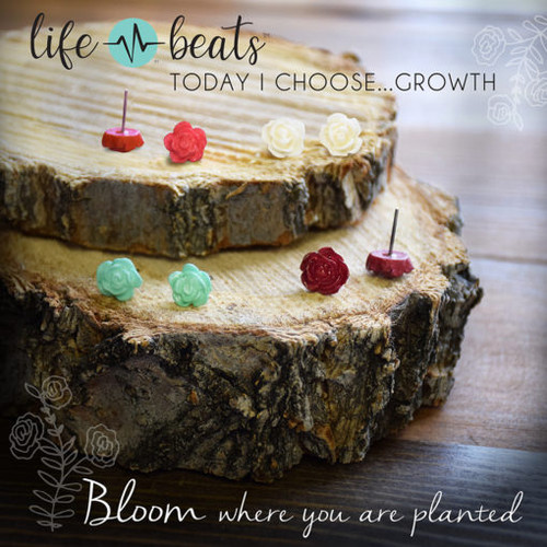 Bloom Rosebud Earrings
