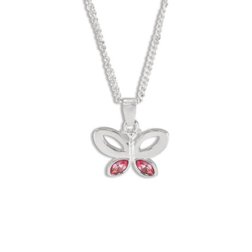 Brave Butterfly Necklace