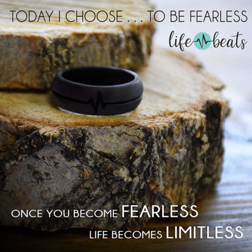 Fearless Silicone Ring SIZE 8