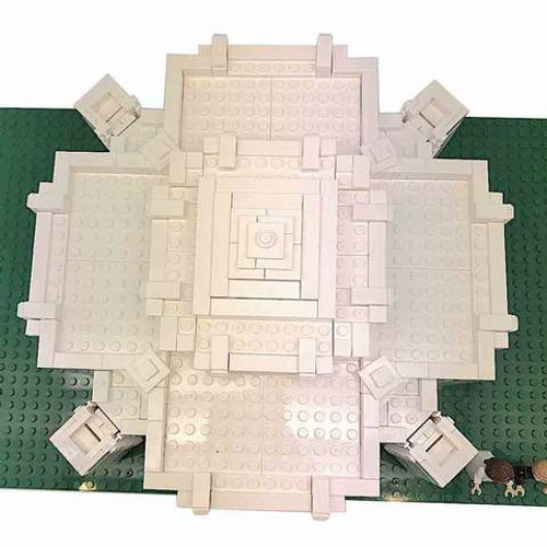 Brick Set - Cardston Temple *