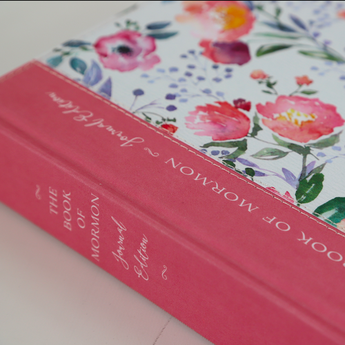 Book of Mormon Journal Edition (Hardcover Floral)*