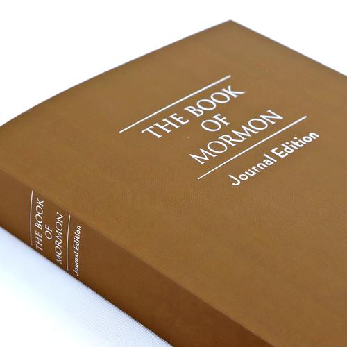 Book of Mormon Journal Edition (Paperback tan)*