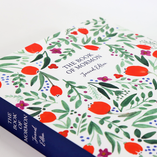 Book of Mormon Journal Edition (Paperback Floral)*