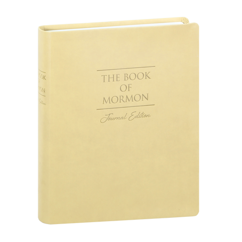 Book of Mormon Journal Faux Leather Edition (Paperback Large Print with index)*