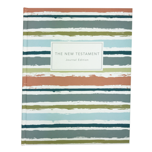 The New Testament Journal Edition No Index Striped (Hardcover)*
