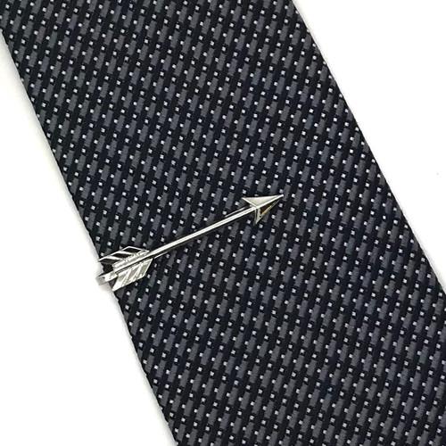Be Confident Tie Bar Silver*