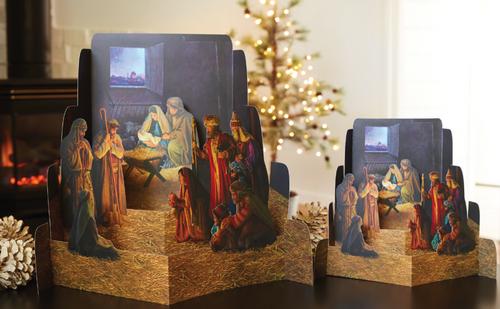 Diorama Nativity (Large) By Greg Olsen
