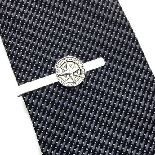Be Confident Compass Tie Bar, Graduation Tie Bar