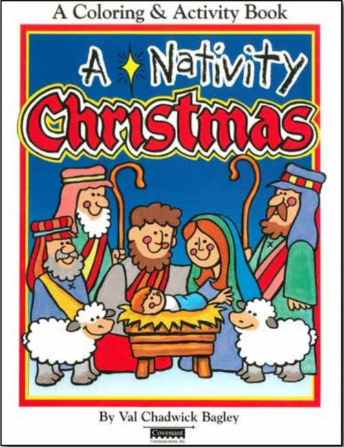 A Nativity Christmas: Coloring and Activity Book (Paperback)*