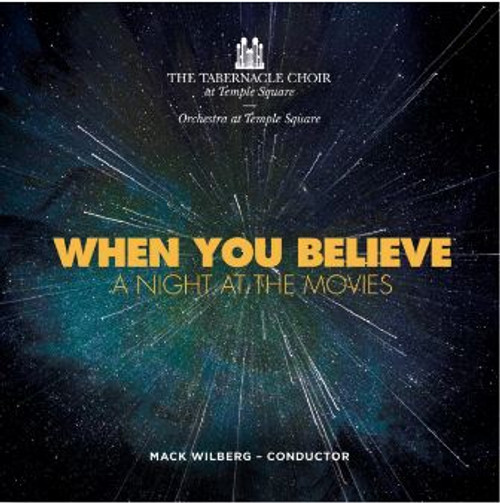 When You Believe: A Night At the Movies  (Music CD) *
