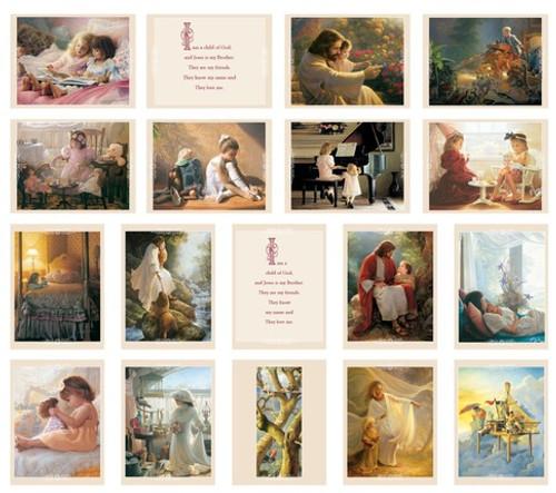 Minicard Pack - I Am a Child of God (3x4 Print)*