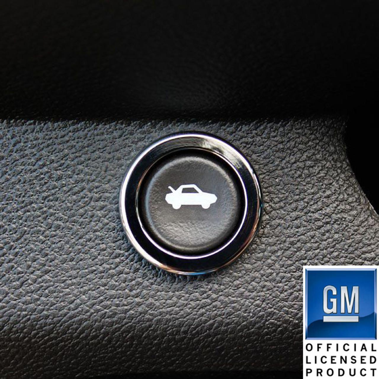 2010-2014 Chevrolet Camaro Billet Windshield Washer Control Knob Bezel Polished