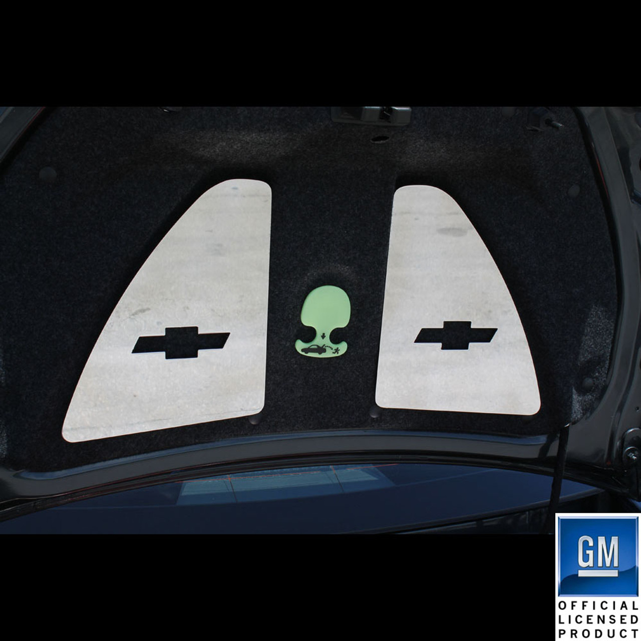 2010-2014 Chevrolet Camaro Billet Trunk Latch Trim 2SS//RS Logo Black