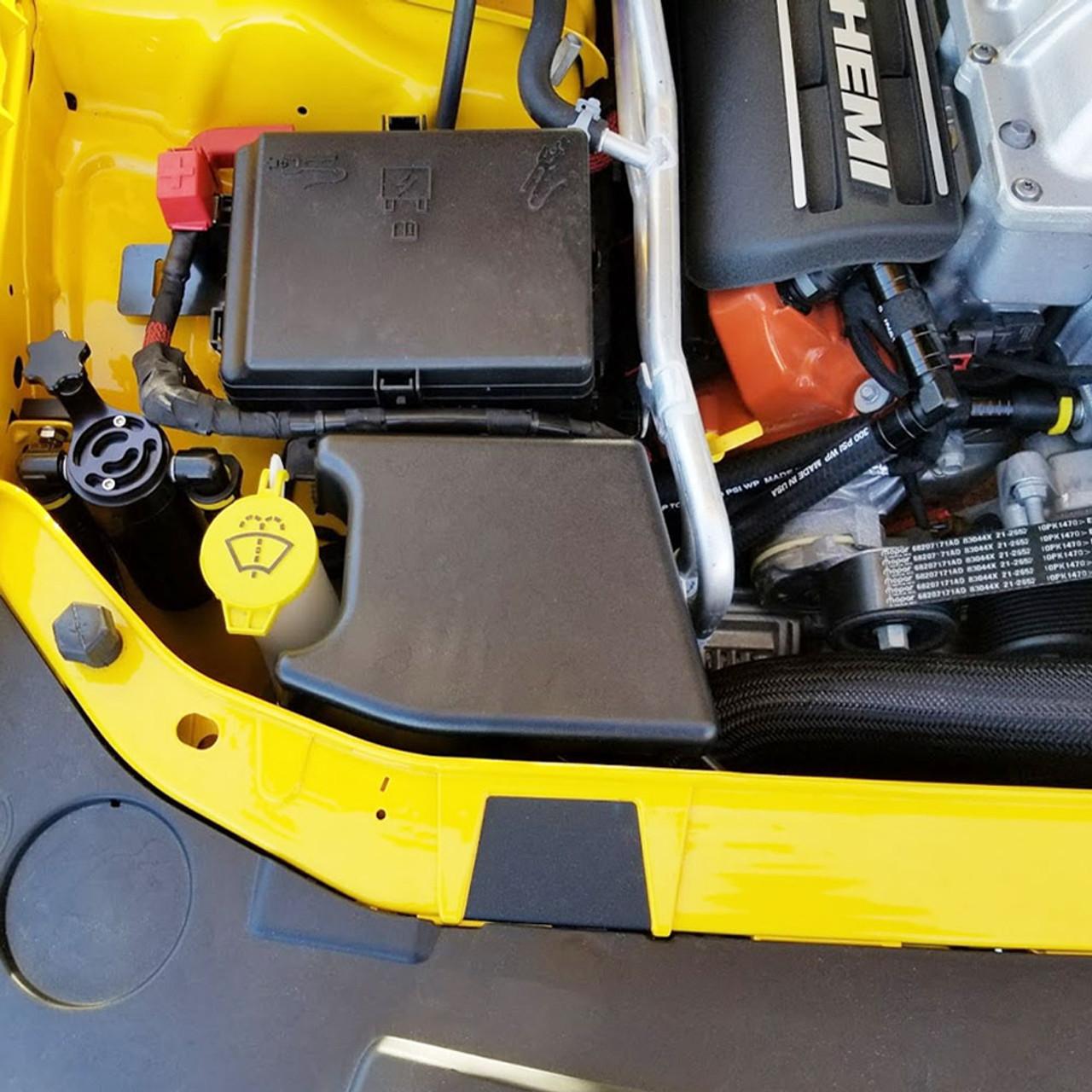 Dodge Hellcat Demon Trackhawk Catch Can 6.2L Plug N Play Satin