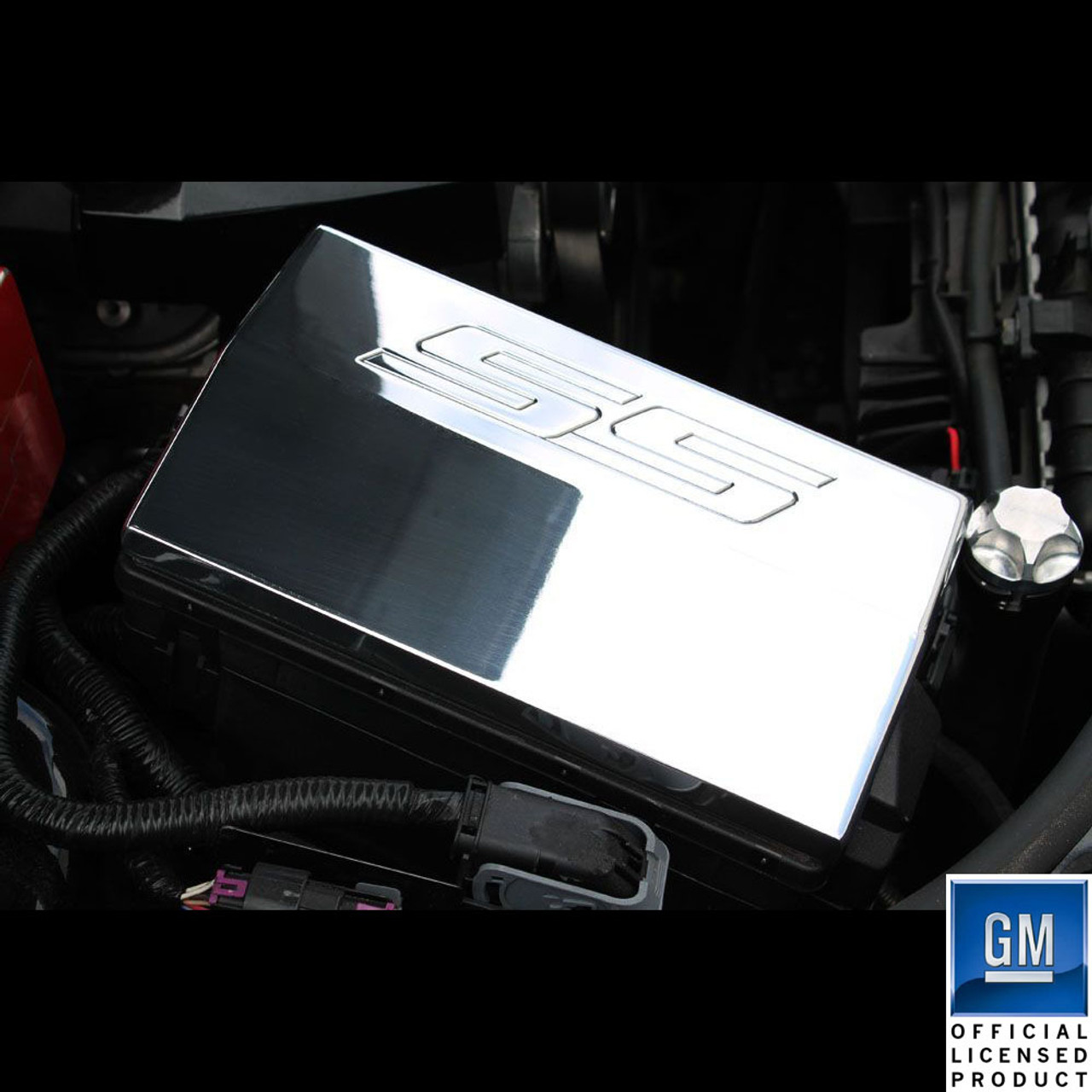 10-14 Chevrolet Camaro Billet Fusebox Cover SS Logo | Chevrolet Fuse Box Cover |  | UPR Products