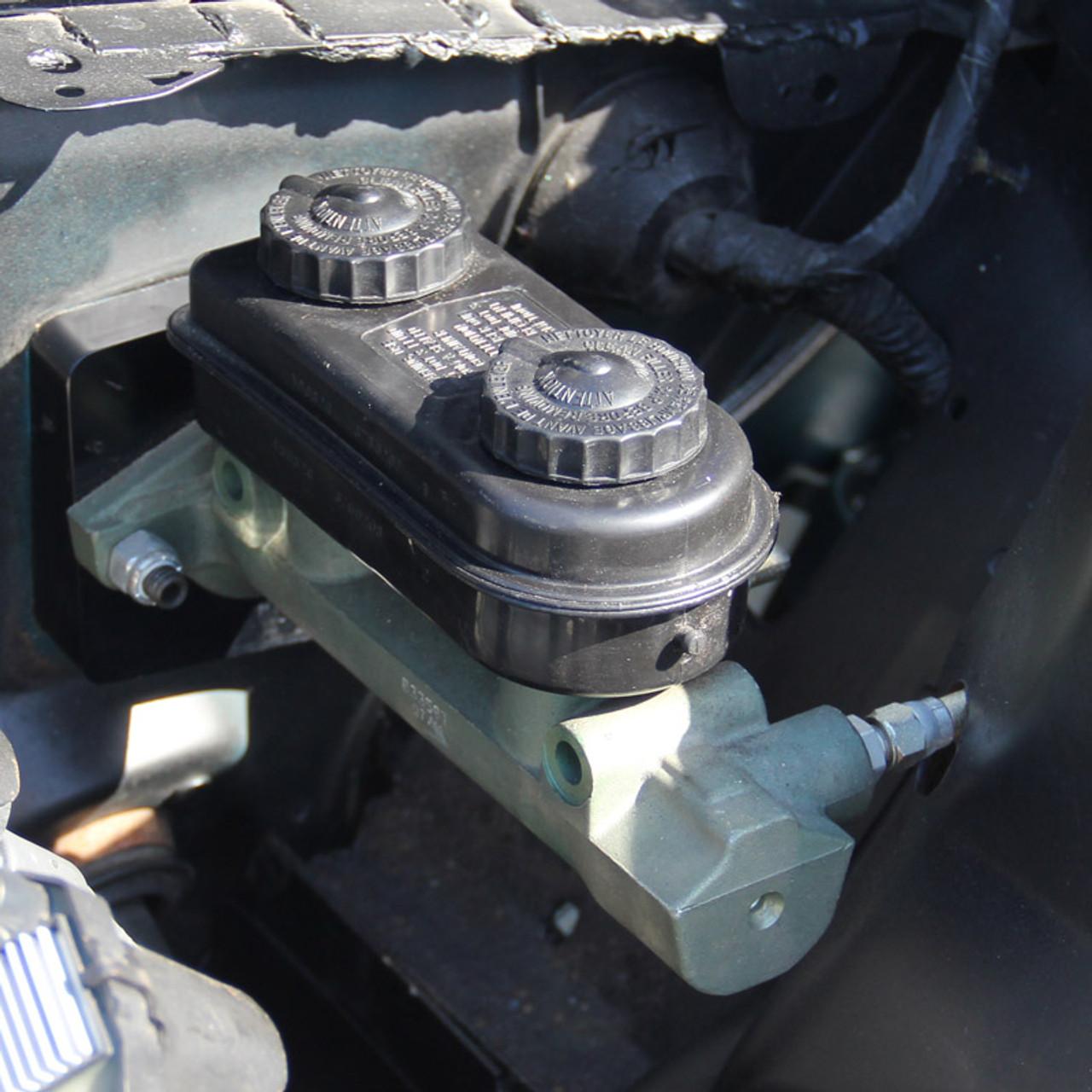 UPR 1994-2004 Mustang Billet Manual Brake Adapter Fittings ...