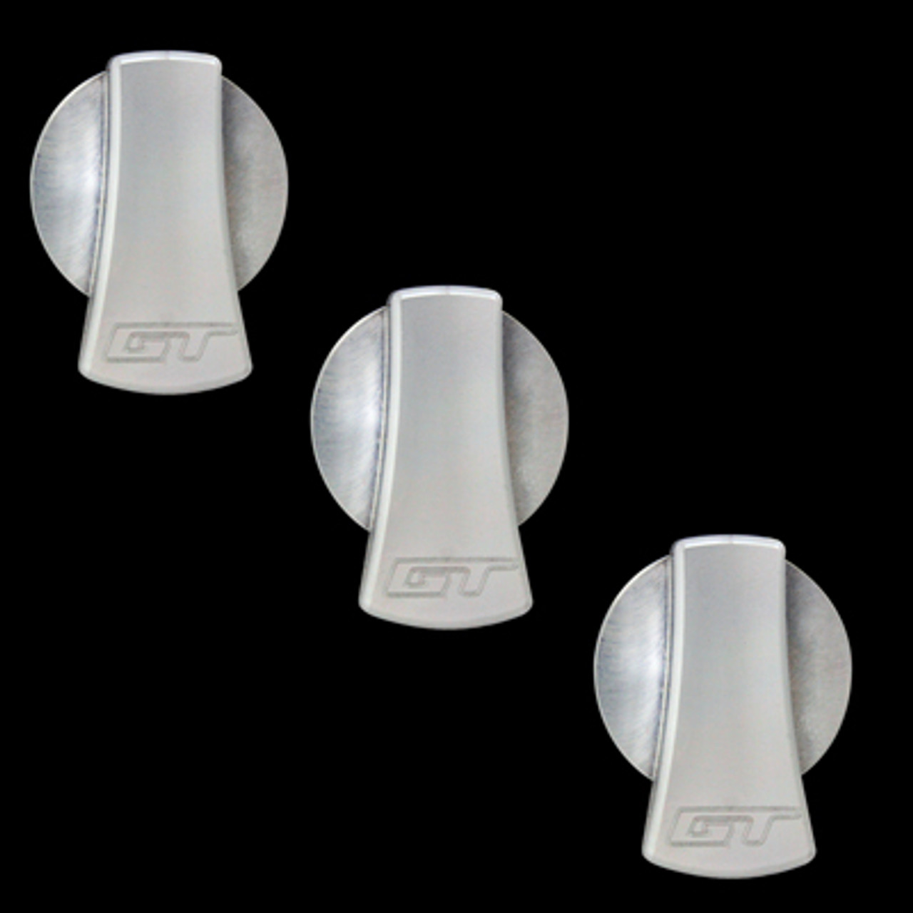 2005-2009 Mustangs Satin A//C Knob Covers