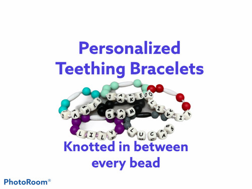 Personalized Teething kids Bracelet