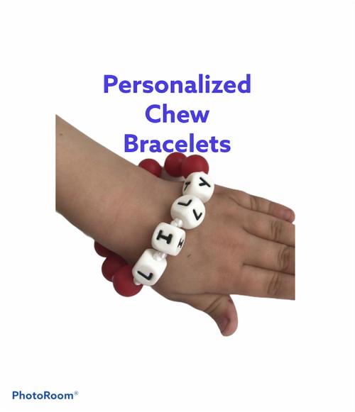 Personalized Teething Bracelet