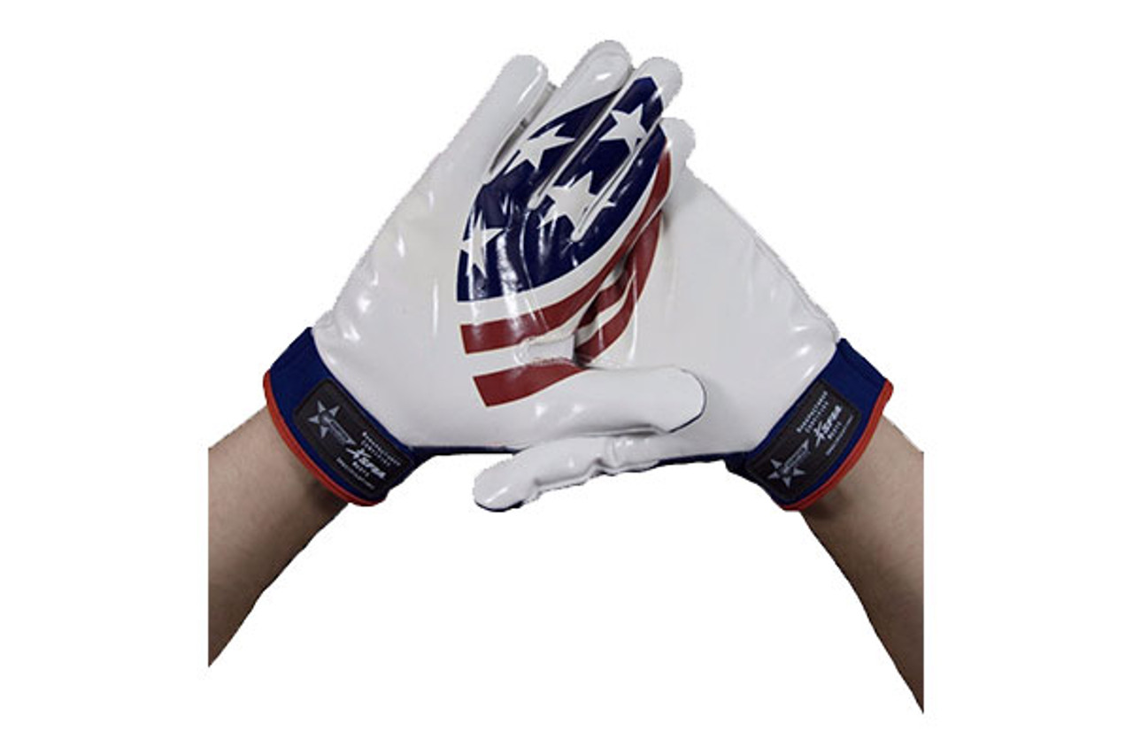 USA Football Palm Logo Receiver Gloves