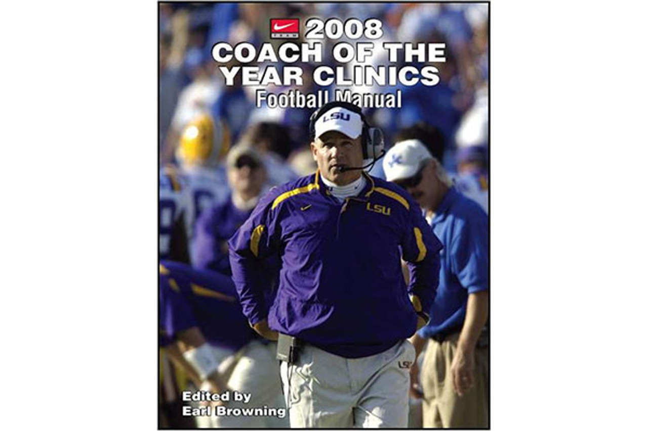 2008 Coach of the Year Clinics Football Manual
