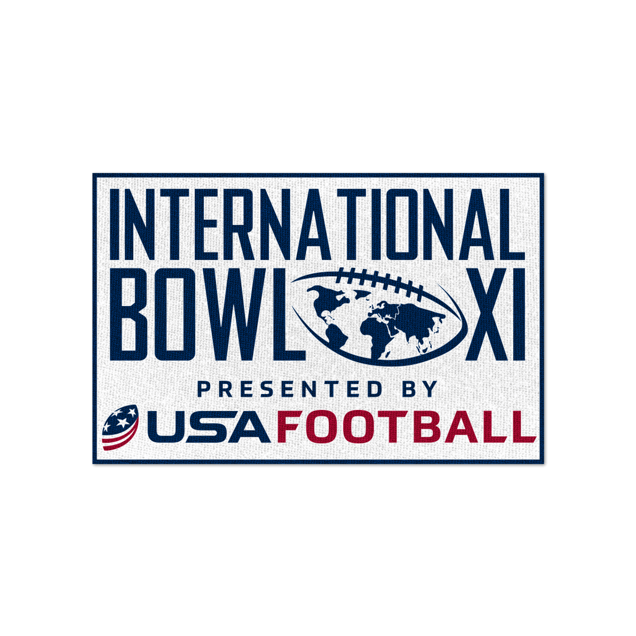 Pre-Order 2020 USA Football International Bowl Patch