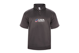 USAFB Short Sleeve Performance 1/4 Zip Jacket
