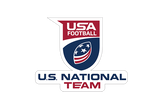 USA Football National Team Sticker