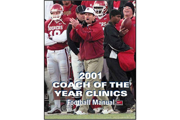 2001 Coach of the Year Clinics Football Manual