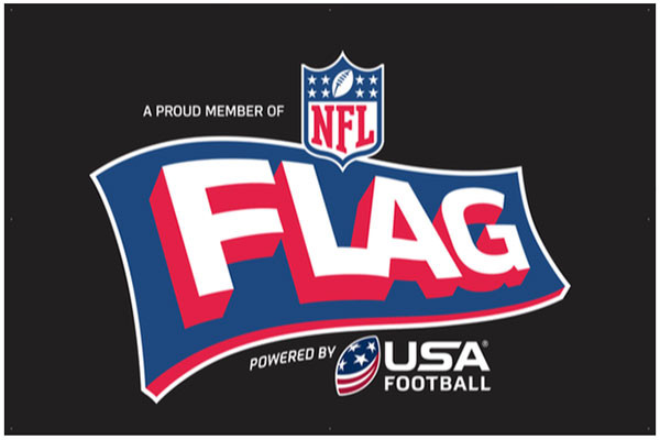 NFL FLAG Powered by USA Football 3'X5' Banner