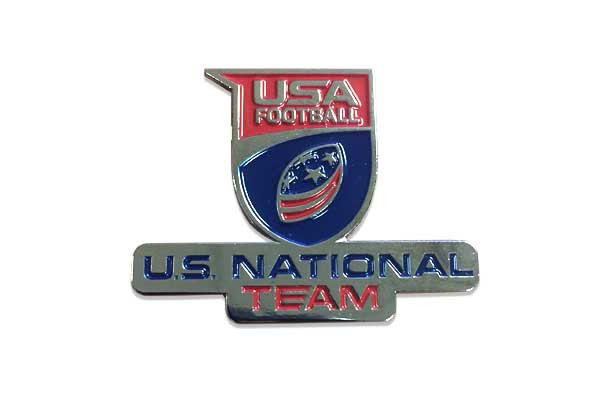 USA Football U.S. National Team Pin