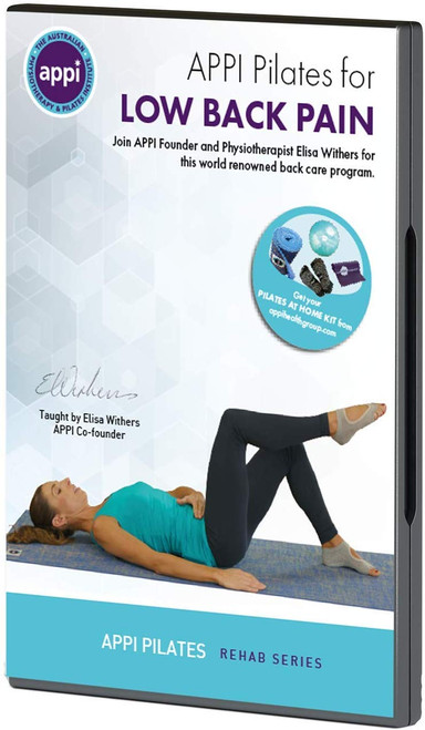 APPI Low Back Pain Pilates DVD