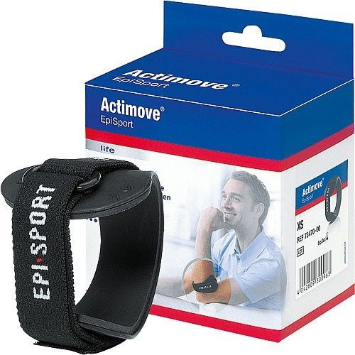 Actimove Epi Sport Tennis Golfer Elbow Brace Epicondylitis Strap Wrap Support 	arthritis,clasp,sprain,sports,protect,pad,surgery