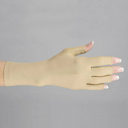 Open Finger Compression Gloves Medical Graded Oedema Arthritis Carpal Hand Pain
