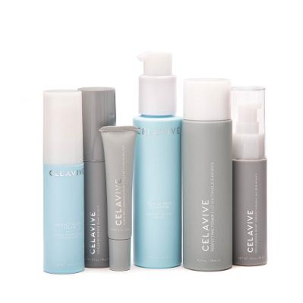 Reveal your skin's natural radiance with this comprehensive Celavive™ skincare regimen.