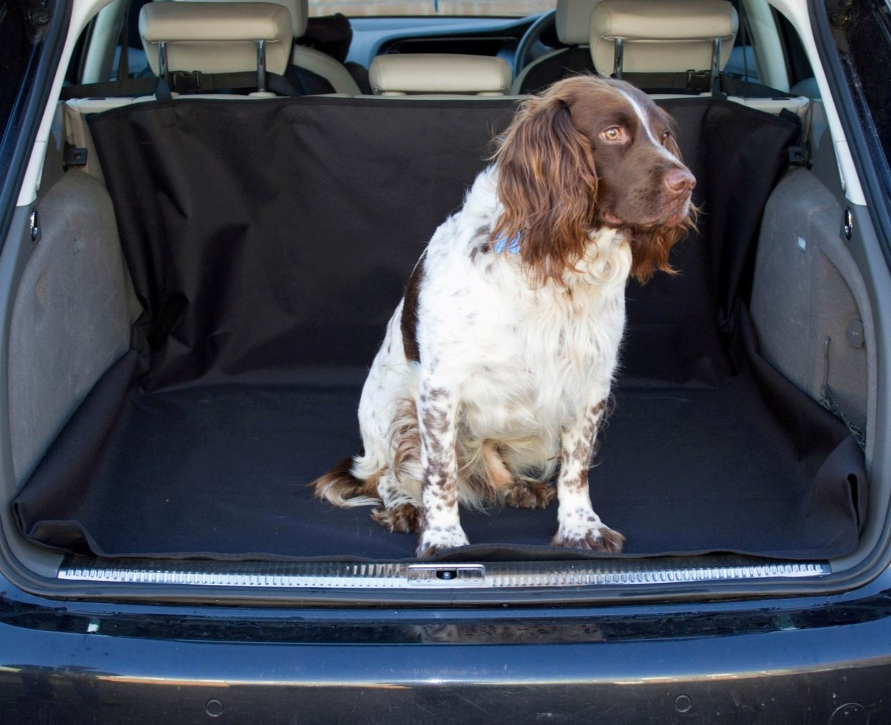 Skoda Roomster Car Boot Headrest Mounted Universal Dog Guard