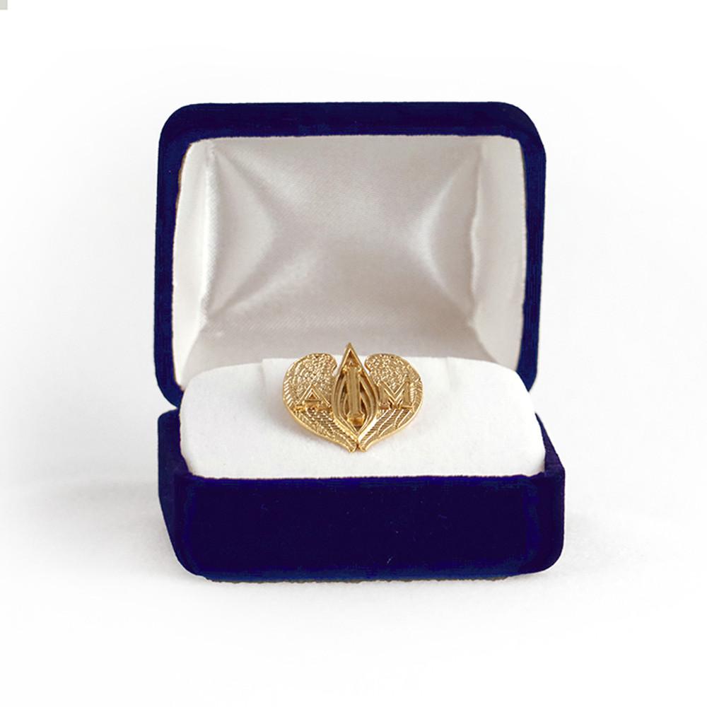 I AM Emblem - 14k Gold Pin-Pendant