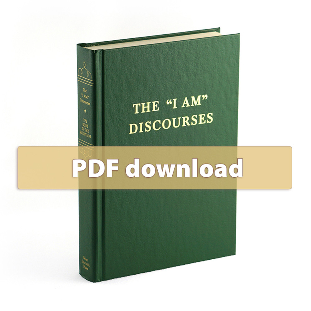 "Volume 20 - The ""I AM"" Discourses - PDF"