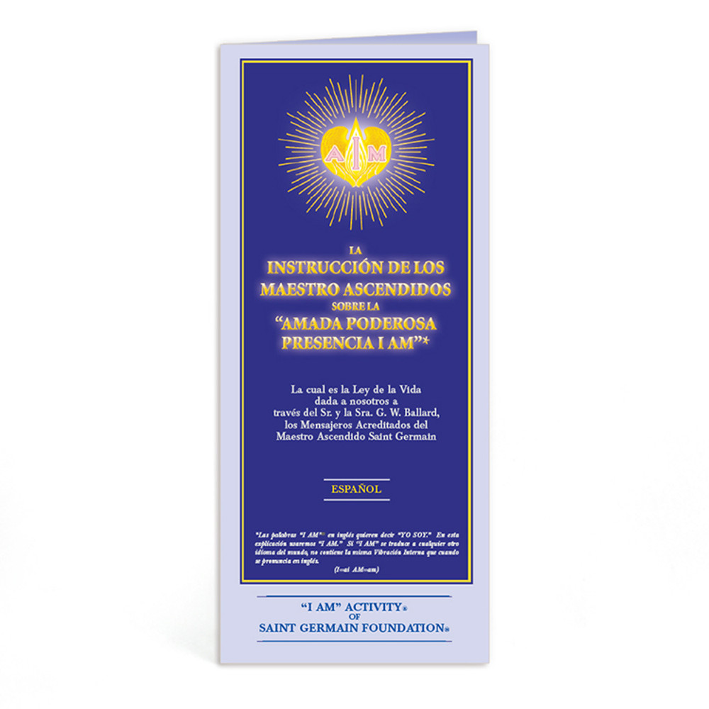 Ascended Master Instruction Spanish - 10 pk