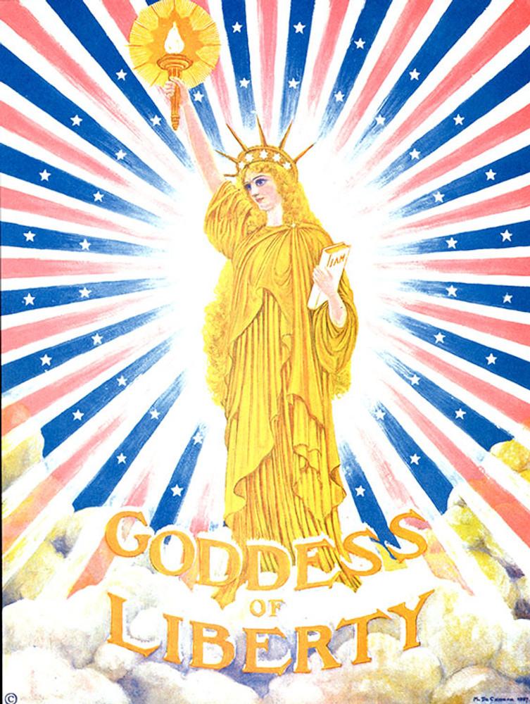 Goddess of Liberty color