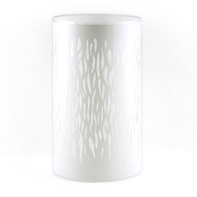 Violet Flame Lamp - Shield white