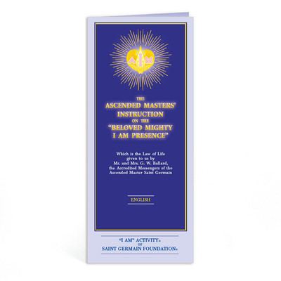 Ascended Master Instruction English - 10 pk