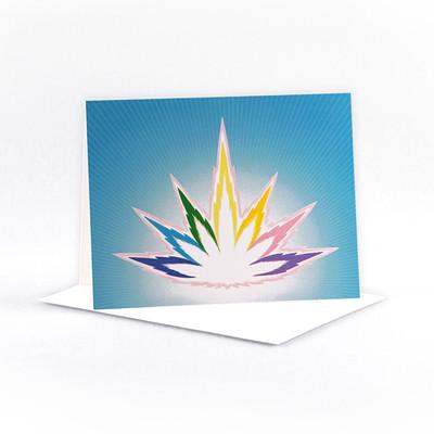 Elohim Flame - 5.5 x 4.25 inch