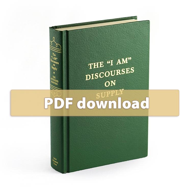 "Volume 19 - The ""I AM"" Discourses on Supply - PDF"