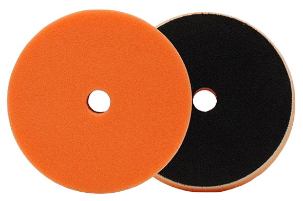 Orange foam pad