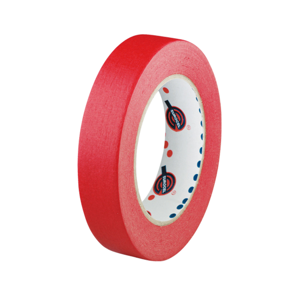 Red roll of masking tape